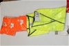 5x Hi-Vis Vests - Assorted Colours - Size S