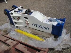 Unused 2017 GTX680 Hydraulic Hammer