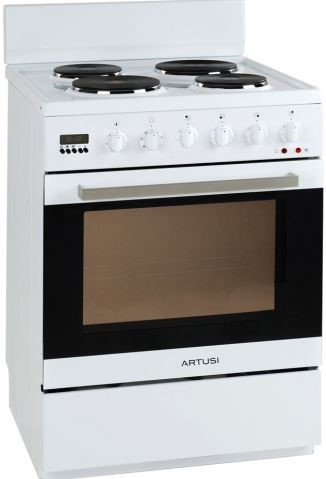 Artusi Freestanding Cooker - Electric Oven / EGO Cooktop (AFE607W)