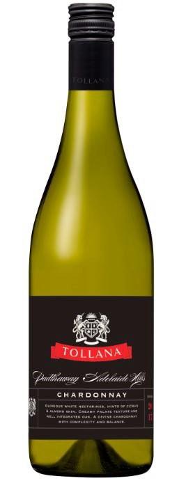 Tollana Padthaway Adelaide Hills Chardonnay 2017 (6 x750mL) SA