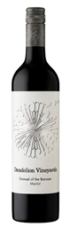 Dandelion Vineyards Damsel of Barossa Merlot 2018 (12 x 750mL) SA