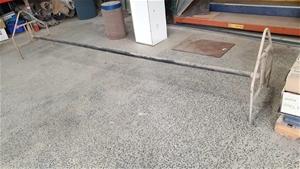 Steel Fabricated Carpet Roll Holder