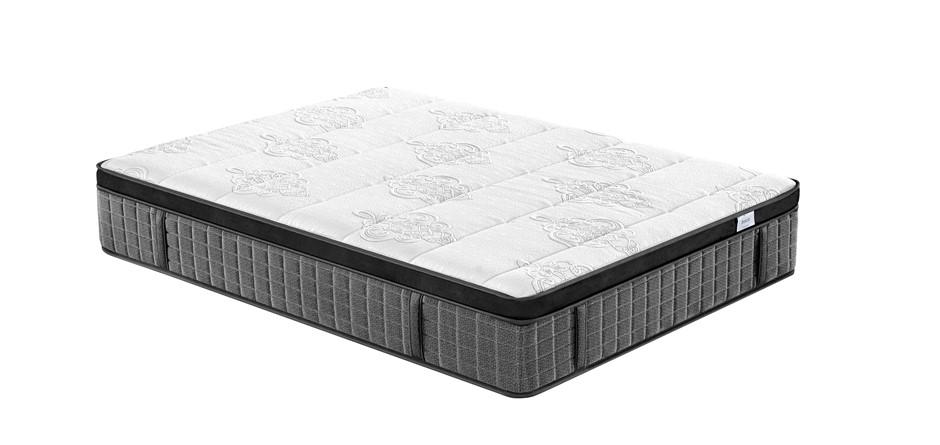 Breeze King Supreme Cool Gel Infused Memory Foam 7 Zone Euro Top Mattress