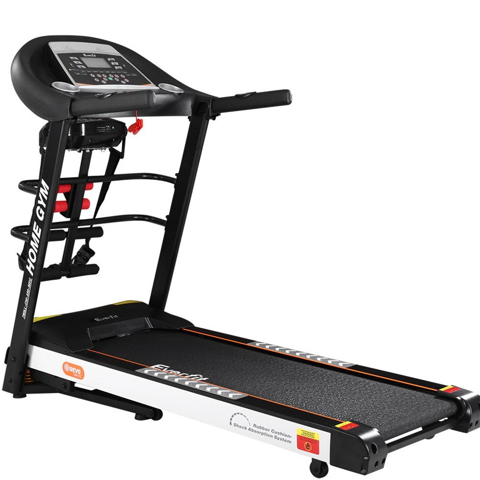 Everfit Electric Treadmill Auto Incline Run Exercise Machine Fitness