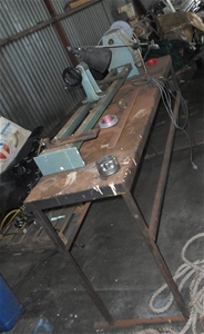 Wood turning lathe 240V GMF Brooks Crompton belts P\L  Packaging and collec