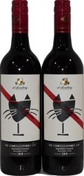 d'Arenberg The Cenosilicaphobic Cat Sagrantino Cinsault 2010 (2x 750mL)