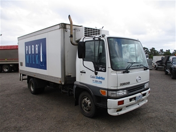Unreserved Refrigerated Truck