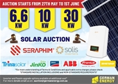 6.6-30kw Solar Auction with Standard Grid Installation