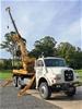 7T Crane Borer MAN 6x6 Carrier