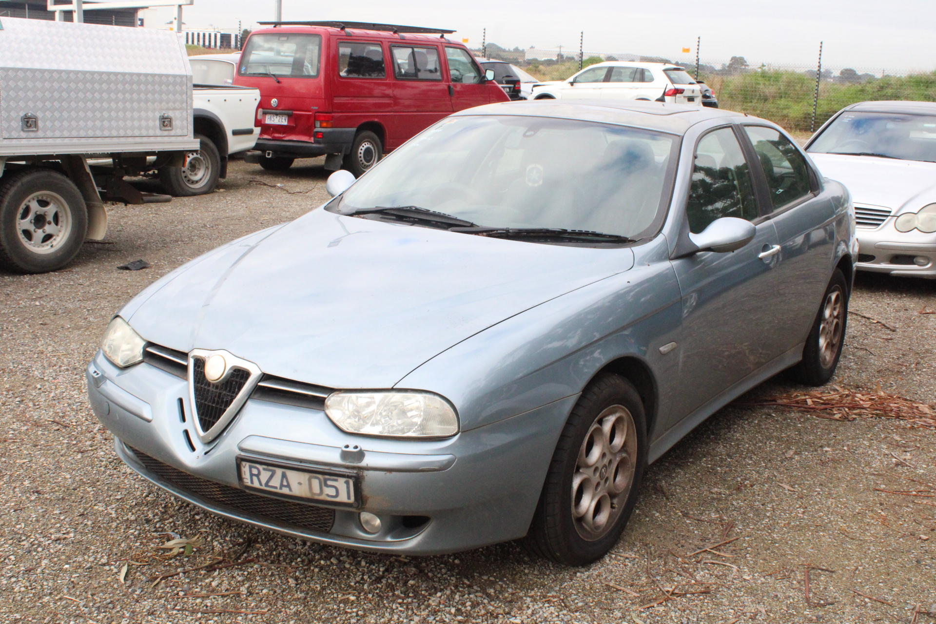 2002 Alfa Romeo 156 JTS Manual Sedan