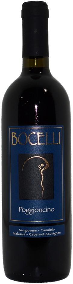 Bocelli Poggioncino Toscana Sangiovese (6x 750mL) Tuscany, Italy. Screwcap