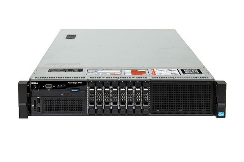 DELL R720 SERVER, 2x E5-2690v2, 96GB, 2.4 TB