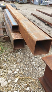 Assorted Steel Fabricated Beams