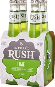 Infused Rush Lime Vodka (24 x 275mL) Aus