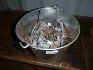 Bucket of Webforge Fixing Clips