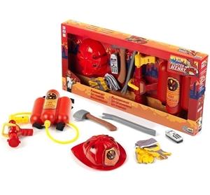 KLEIN Fire Fighter Henry 7pc Toy Fireman