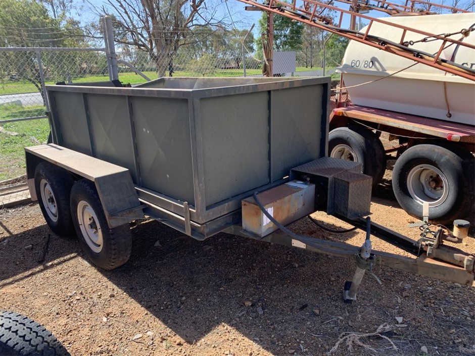 Dual Axle Tipping Trailer