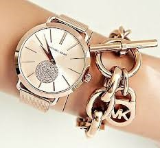 Ladies New Michael Kors Couture Ny 'Jaryn' Classy Classic Watch