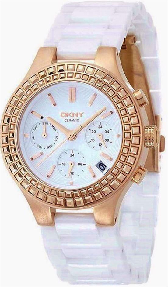 Ladies Never Worn Dkny Fantastic Looking Chronograph Ladies Watch