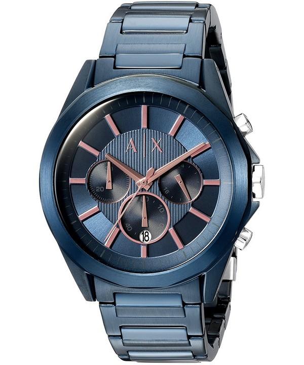 Unique New Armani Exchange Chronograph Men'S Watch