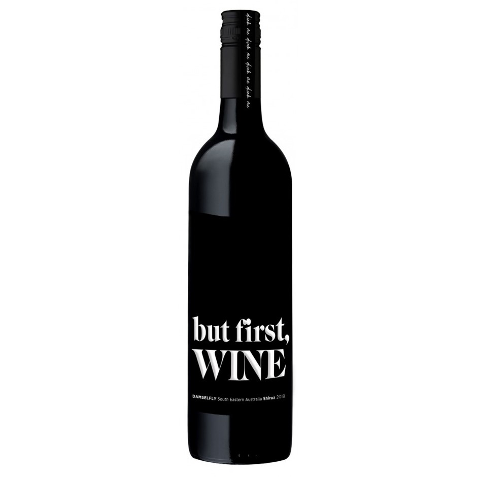 But First Wine Shiraz 2018 (12x 750mL), South Australia.