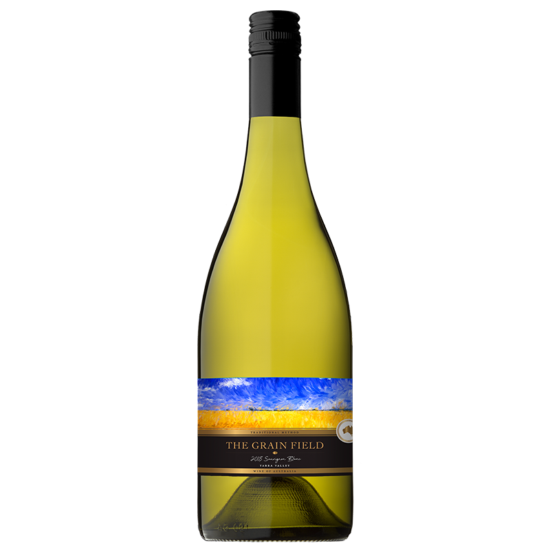 The Grain Field Sauvignon Blanc 2018 (12x 750mL), Yarra Valley.