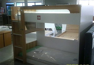 Mercury Bunk Bed with 2 new Crown Single