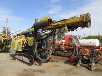 2003 Atlas Copco L8 DTHH Track Mounted Drill Rig