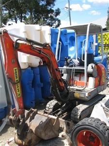 Mini Excavator Libra 1 12 Tonne Scat Trak Kubota Diesel Engine