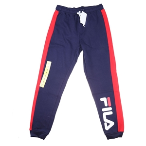 FILA Men`s Theo Embossed Trackpant, Size