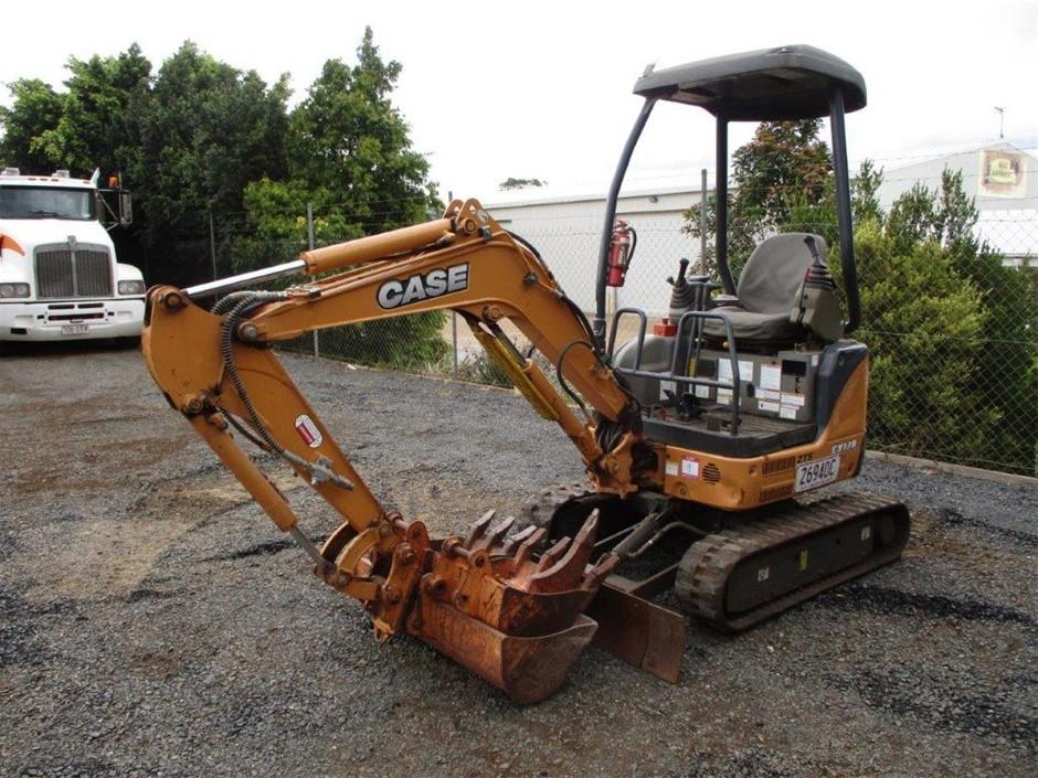 2014 Case CX17B ZTS Excavator