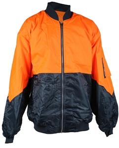 FRONTIER Hi-Vis Flying Jacket, Size 4XL,