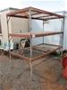 Fabricated Steel Storage Rack