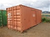 20 Foot Shipping Container No. 2573479 (Orange)