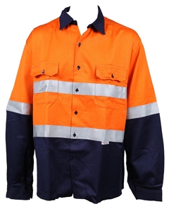 2 x PPC Poly/Cotton Shirts, Size S, Long