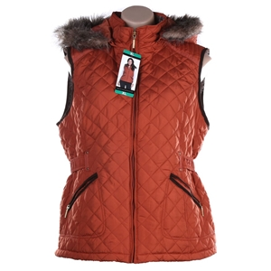 WEATHERPROOF Women`s Quilted Sleeveless