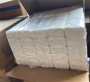 Qty 3 x 100 bags x 3ply soft white tissu
