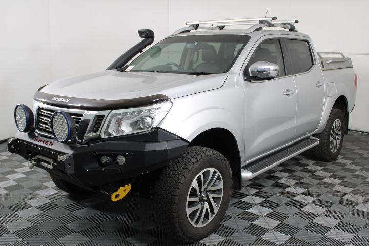 2015 Nissan Navara 4X4 ST-X NP300 T/Diesel Auto Dual Cab 53,568km