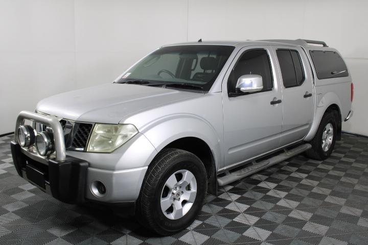 2008 Nissan Navara ST-X 4WD D40 Turbo Diesel Auto Dual Cab
