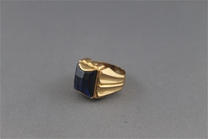 Acid Tested 18ct Yellow Gold Signet Ring