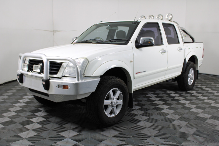 2004 Holden Rodeo LT 4WD RA Dual Cab, 155,262km