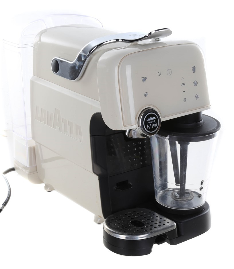 ELECTROLUX Lavazza A Modo Mio Fantasia Coffee Machine, White. N.B. Has been