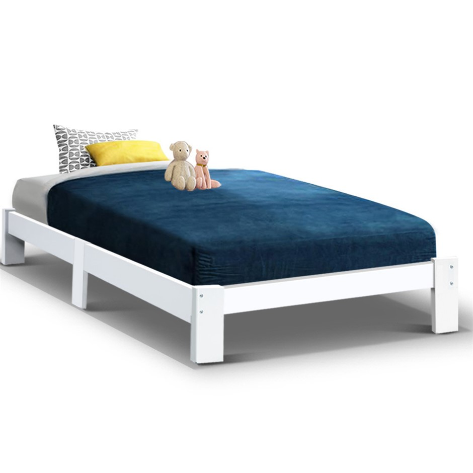 Artiss Bed Frame King Single Size Wooden Mattress Base Timber Platform JADE