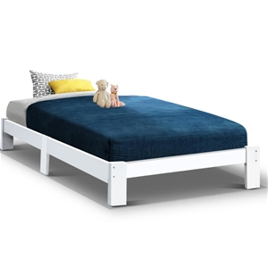 Artiss Bed Frame King Single Size Wooden