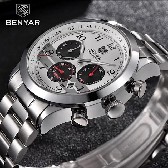 Luxury Chronograph Benyar Sport Watch