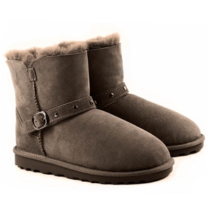 COZY MATE Kids` Shearling Boot with Buck