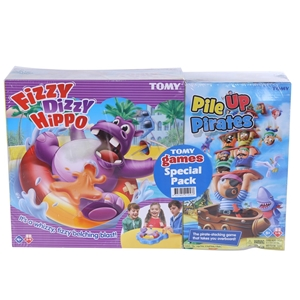 2 x Assorted TOMY Toys, Comprising; Fizz