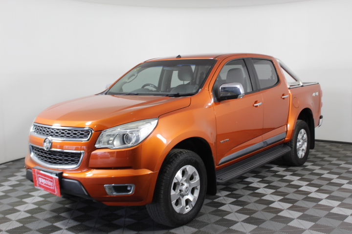 2013 Holden Colorado 4X4 LTZ RG Turbo Diesel Automatic Dual Cab