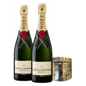 Moët & Chandon Brut Impérial (2x 750mL) With Bonus Tin