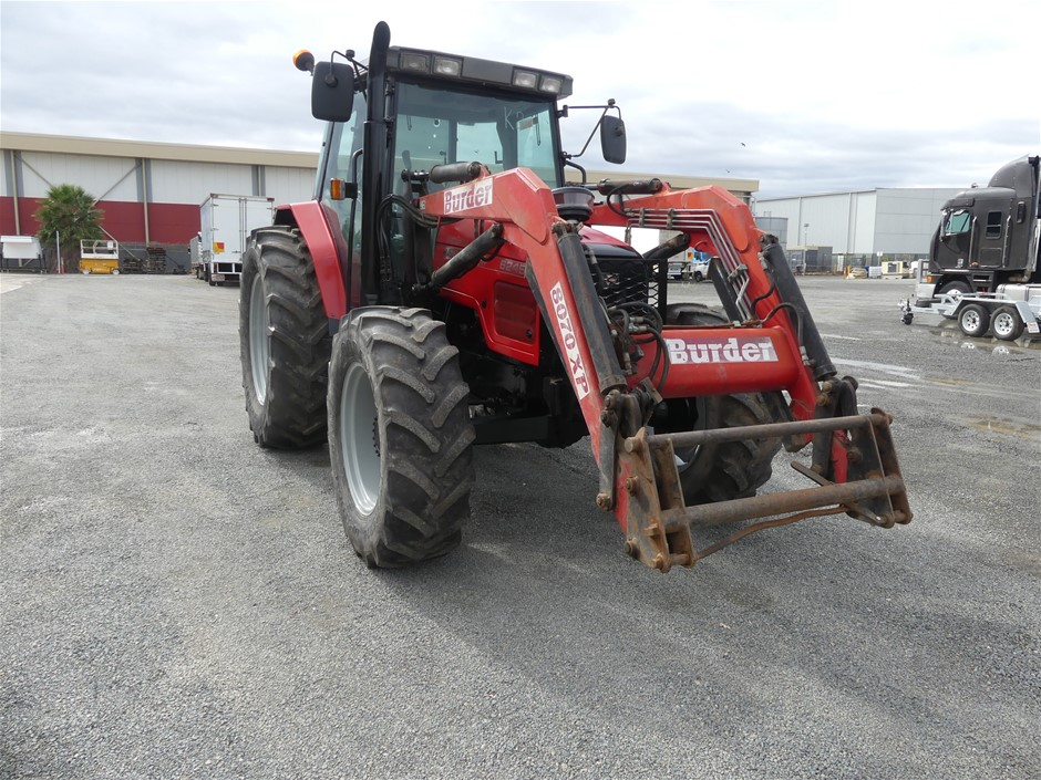 Massey Ferguson 6245 Tractor Fitted with Burder Front End Loader